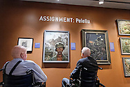 The opening of the Tom Lea exhibit at the National WWII Museum in New Orleans, LA on June 23, 2016.