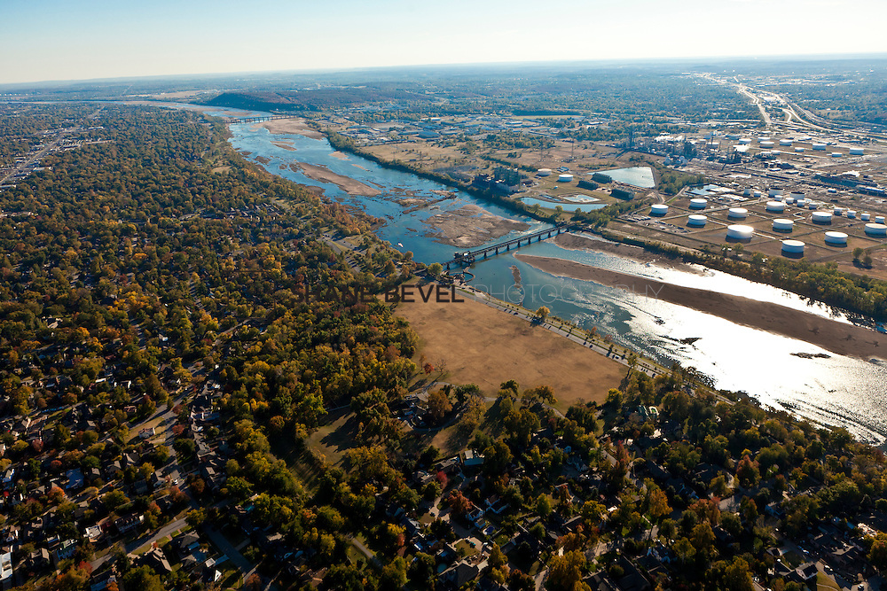 11/4/11 4:35:41 PM -- Riverside aerials..Photo by Shane Bevel.Aerial images of Tulsa's Riverparks and views of downtown Tulsa as well as the riverside area.