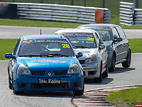 #28 Andrew TIBBS Renault Clio 182  during K-Tec Racing Clio 182 Championship as part of the 750 Motor Club at Oulton Park, Little Budworth, Cheshire, United Kingdom. April 14 2018. World Copyright Peter Taylor/PSP.