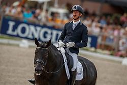 Veeze Bart, NED, Imposantos<br /> World ChampionshipsYoung Dressage Horses<br /> Ermelo 2018<br /> © Hippo Foto - Dirk Caremans<br /> 04/08/2018