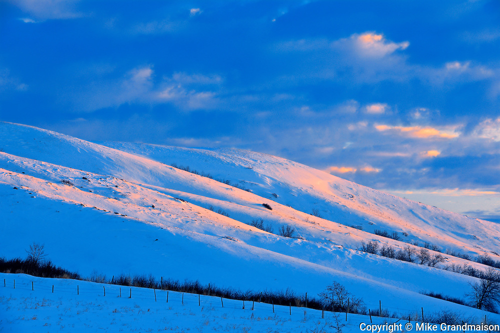 Sunrise in Qu' Appelle Valley<br /> near Craven <br /> Saskatchewan<br /> Canada