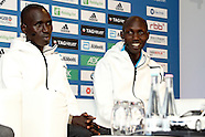 Berlin- Berlin Marathon Press Conference - 23 Sep 2016
