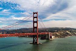 Aerial photos of San Francisco Skyline.