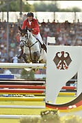 Nicola PHILIPPAERTS (BEL) riding H M Harley v riding Bisschop during the Nations Cup of the World Equestrian Festival, CHIO of Aachen 2018, on July 13th to 22th, 2018 at Aachen - Aix la Chapelle, Germany - Photo Christophe Bricot / ProSportsImages / DPPI