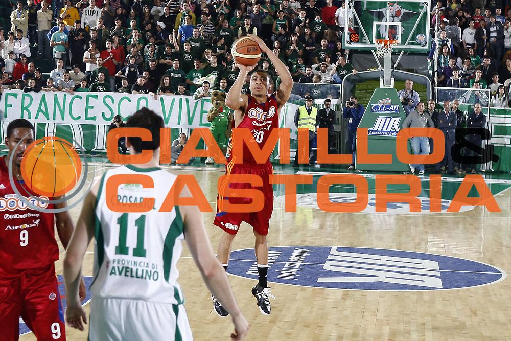DESCRIZIONE : Avellino Lega A 2008-09 Air Avellino Lottomatica Virtus Roma<br /> GIOCATORE : Ibrahim Jaaber<br /> SQUADRA : Lottomatica Virtus Roma<br /> EVENTO : Campionato Lega A 2008-2009 <br /> GARA : Air Avellino Lottomatica Virtus Roma<br /> DATA : 07/05/2009<br /> CATEGORIA : tiro<br /> SPORT : Pallacanestro <br /> AUTORE : Agenzia Ciamillo-Castoria/E.Castoria