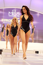 28.02.2015, Europapark Dom, Rust, GER, Miss Germany Wahl 2015, im Bild Aufmarsch in Bademode // during the election to Miss Germany 2015 at the Europapark Dom in Rust, Germany on 2015/02/28. EXPA Pictures © 2015, PhotoCredit: EXPA/ Eibner-Pressefoto/ BW-Foto<br /> <br /> *****ATTENTION - OUT of GER*****