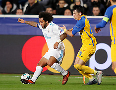 Apoel Nicosia vs Real Madrid - 21 Nov 2017