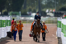 Sanne Voets, (NED), Vedet Pb - Freestyle Test Grade III Para Dressage - Alltech FEI World Equestrian Games™ 2014 - Normandy, France.<br /> © Hippo Foto Team - Leanjo de Koster<br /> 25/06/14
