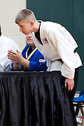 Martial Arts USA May Belt Testing at O'reilly Center on May 7, 2011 in Springfield, Missouri. (David Welker/www.TurfImages.com).