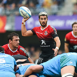 Sebastien BEZY of Toulouse  during the Top 14 match between Montpellier and Toulouse on October 19, 2019 in Montpellier, France. (Photo by Alexandre Dimou/Icon Sport) - Sebastien BEZY - Altrad Stadium - Montpellier (France)