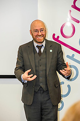 Pictured: Patrick Harvie<br /> Green Party co-convener Patrick Harvie delivered an address to Reform Scotland. This is the second event, organised by Shepherd and Wedderburn, in the think tank's series of speeches on the Scottish Government's tax and spending plans.<br /> <br /> Ger Harley | EEm 7 February 2017