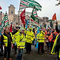 Manifestazione lavoratori  autostrade