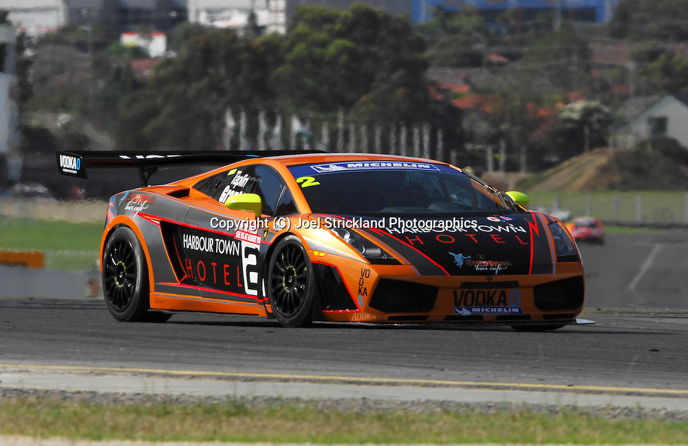 Dean Grant & Andrew Taplin - Lamborghini Gallardo.Motorsport/2008 Shannon Nationals.Australian GT Championship - Sandown GT Classic.Sandown International Raceway, Melbourne, Victoria.30th November 2008.(C) Joel Strickland Photographics.