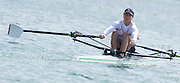 """Belgrade, SERBIA,  """"Eye's Left"""" GBR LW1X, Charlotte TAYLOR at the start of her heat at the 2014 FISA European Rowing Championships. Lake Sava. <br /> <br /> <br /> 09:33:11  Friday  30/05/2014<br /> <br /> [Mandatory Credit; Peter Spurrier/Intersport-images]2014 FISA European Rowing Championships. Lake Sava. <br /> <br /> <br /> 09:35:00  Friday  30/05/2014<br /> <br /> [Mandatory Credit; Peter Spurrier/Intersport-images]2014 FISA European Rowing Championships. Lake Sava. <br /> <br /> <br /> 09:34:53  Friday  30/05/2014<br /> <br /> [Mandatory Credit; Peter Spurrier/Intersport-images]"""
