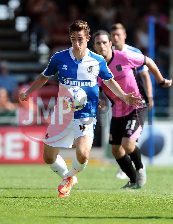Tom Lockyer of Bristol Rovers  - Mandatory byline: Joe Meredith/JMP - 07966386802 - 08/08/2015 - FOOTBALL - Memorial Stadium -Bristol,England - Bristol Rovers v Northampton Town - Sky Bet League Two
