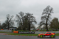 PMW Expo Racing / Optimum Motorsport #501 Ginetta G55 GT4 Graham Johnson/Mike Robinson GT4 Pro/AM during British GT Championship as part of the BRDC British F3/GT Championship Meeting at Oulton Park, Little Budworth, Cheshire, United Kingdom. April 17 2017. World Copyright Peter Taylor/PSP.