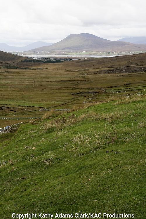 Achill Island Landscape, County Mayo, Ireland.