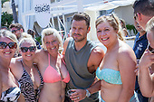 EXCLUSIVE Mark wright parties at BH Hotel Magaluf