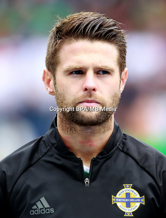 Uefa - World Cup Fifa Russia 2018 Qualifier / <br /> Northern Ireland National Team - Preview Set - <br /> Oliver James Norwood