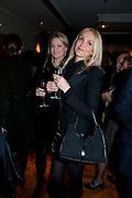 SAMANTHA JOHNSON; MELONY JOHNSON, Launch of the Orange restaurant, 37 Pimlico Road, SW1W 8NE,  Thursday 29 October 2009
