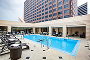 pool on the 15th floor of the InterContinental Hotel New Orleans