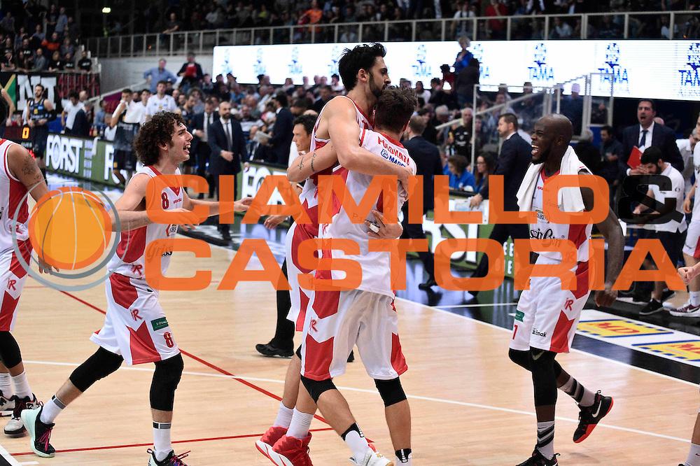 Polonara Achille<br /> Dolomiti Energia Trento - Grissin Bon Reggio Emilia<br /> LegaBasket 2016/2017<br /> Ferrarai 30/10/2016<br /> Foto Ciamillo-Castoria
