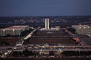 Brasilia_DF, Brasil.<br /> <br /> Complexo arquitetonico de Brasilia visto da antena da TV, Distrito Federal.<br /> <br /> Architectural complex of Brasília seen from the TV antenna , Distrito Federal.<br /> <br /> Foto: JOAO MARCOS ROSA / NITRO