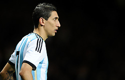 Argentina's Angel Di Maria  - Photo mandatory by-line: Joe Meredith/JMP - Mobile: 07966 386802 - 18/11/14 - SPORT - Football - Manchester - Old Trafford - Argentina v Portugal - International Friendly