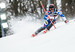 "Pavel Trikhichev (RUS) competes during 1st Run of FIS Alpine Ski World Cup 2017/18 Men's Slalom race named ""Snow Queen Trophy 2018"", on January 4, 2018 in Course Crveni Spust at Sljeme hill, Zagreb, Croatia. Photo by Vid Ponikvar / Sportida"