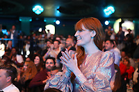 Florence + The Machine applauding Wolf Alice
