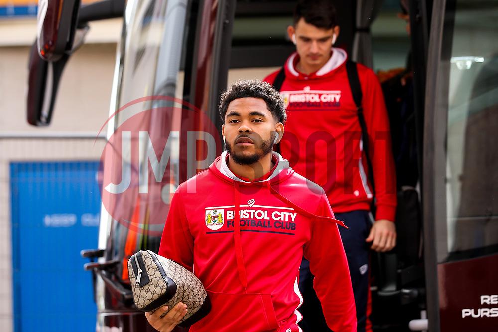 Jay Dasilva of Bristol City arrives at Hull City - Mandatory by-line: Robbie Stephenson/JMP - 05/05/2019 - FOOTBALL - KCOM Stadium - Hull, England - Hull City v Bristol City - Sky Bet Championship