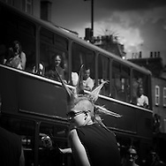 London. UK Camden Lock and canal  in Camden town, the little Venice / canal et ecluse a Camden town, petite Venise punks in Camden town market / punks, marche de Camden town