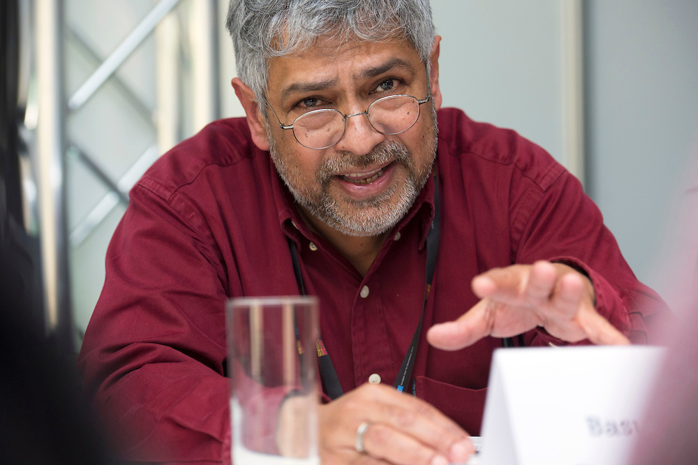 03 June 2015 - Belgium - Brussels - European Development Days - EDD - Jobs - Research for change - New knowledge for poverty eradication - Basudeb Chaudhuri , Senior Researcher at CNRS , Associate professor at University of Caen © European Union