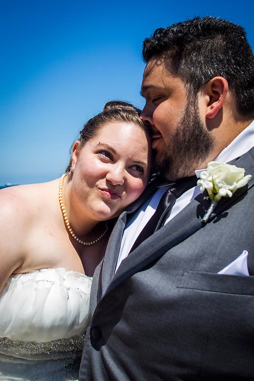 May 24, 2014; Virginia Beach, VA, USA; The Virginia Beach wedding of Ashley and Dom. Mandatory Credit: Peter J. Casey