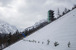 Martin Capuder during testing jumps at Ski jumping Flying Hill One day before FIS World Cup Ski Jumping Final Planica 2018, on March 21, 2018 in Ratece, Planica, Slovenia. Photo by Urban Urbanc / Sportida