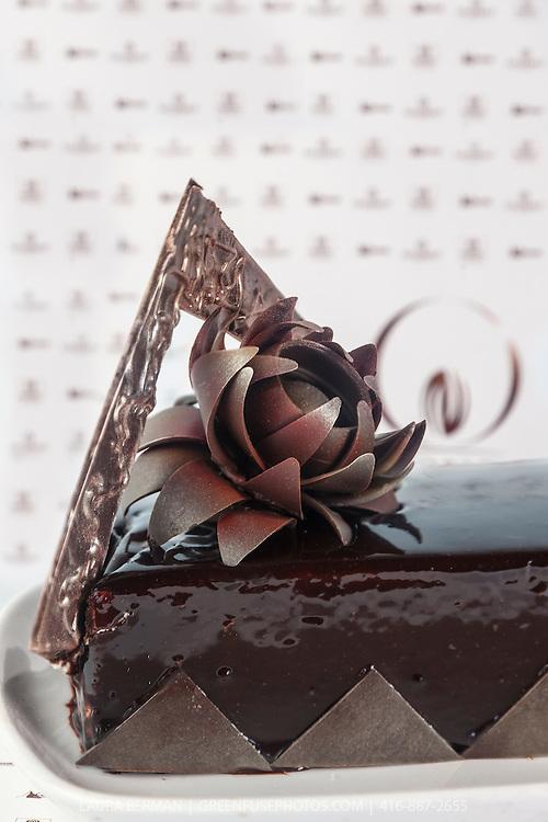 Ruth Bleijerveld's Chocolate Layered Cake. World Chocolate Masters Canadian Selection, January 20, 2013.