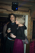 RUPERT COWPER-COLES; MARY TAGG, The launch of Beaver Lodge in Chelsea, a cabin bar and dance saloon, 266 Fulham Rd. London. 4 December 2014