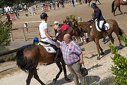Philippaerts Thibault, BEL, Cataleya<br /> European Championship Children, Juniors, Young Riders - Fontainebleau 1028<br /> © Hippo Foto - Dirk Caremans<br /> Philippaerts Thibault, BEL, Cataleya