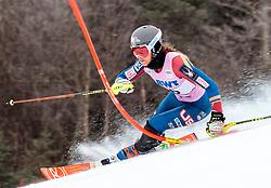 25.11.2017, Killington, USA, FIS Weltcup Ski Alpin, Killington, Slalom, Damen, 1. Lauf, im Bild Resi Stiegler (USA) // Resi Stiegler of the USA in action during her 1st run of ladie's Slalom of FIS ski alpine world cup in Killington, United Staates on 2017/11/25. EXPA Pictures © 2017, PhotoCredit: EXPA/ Johann Groder