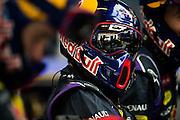 February 19-22, 2015: Formula 1 Pre-season testing Barcelona : Red Bull Racing mechanic