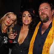 Playboy Night 2004, Louise van teylingen, Monique Klemann en Henk Schiffmacher