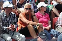 22.05.2014, Tennisanlage 1.FC Nuernberg, GER, WTA Tour, Nuernberger Versicherungscup, Viertelvinale, im Bild Bundestrainerin Barbara Rittner unter den Zuschauern // during the quarterfinals of Nuernberg WTA tournament at the 1.FC Nuernberg tennis facility in Nuernberg, Germany on 2014/05/22. EXPA Pictures © 2014, PhotoCredit: EXPA/ Eibner-Pressefoto/ Schreyer<br /> <br /> *****ATTENTION - OUT of GER*****