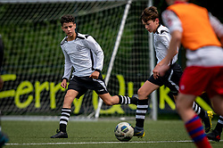 Ivan #5 of VV Maarssen, Roan #7 of VV Maarssen  in action. VV Maarssen O14-1 played a friendly game against CDW O15-2. Maarssen won 9-2 on July 11, 2020 at Daalseweide sports park Maarssen.