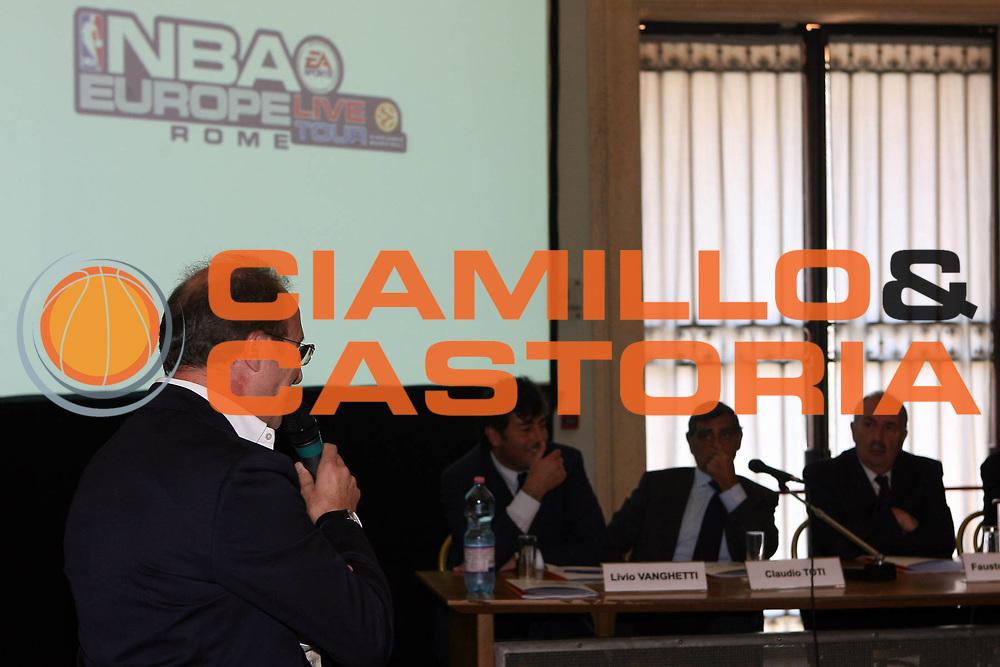DESCRIZIONE : Roma Rome Campidoglio Nba Europe Live Tour Conferenza stampa di presentazione<br /> GIOCATORE : Mambrini<br /> SQUADRA : Lottomatica Virtus Roma Nba Europe Live Tour<br /> EVENTO : Roma Rome Campidoglio Nba Europe Live Tour Conferenza stampa di presentazione<br /> GARA : <br /> DATA : 07/07/2006 <br /> CATEGORIA : Champion<br /> SPORT : Pallacanestro <br /> AUTORE : Agenzia Ciamillo-Castoria/E.Castoria