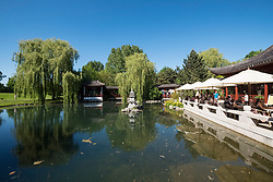 Chinese Garden at Gardens of the World part of IGA 2017 International Garden Festival (International Garten Ausstellung) in Berlin, Germany