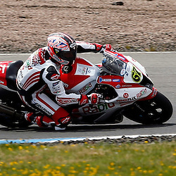 MCE BRITISH SUPERBIKE CHAMPIONSHIP Round Four Knockhill..Shane Byrne winner of the first race of the day at Knockhill in the BSB championship i....(c) STEPHEN LAWSON | StockPix.eu
