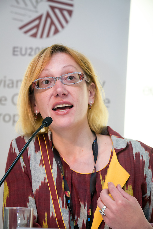 04 June 2015 - Belgium - Brussels - European Development Days - EDD - Gender - Empowering women in Central Asia - Stories from the field - Iluta Lace<br /> Director, Resource Centre for Women - Marta &copy; European Union