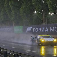 #55, Ferrari 458 Italia, AF Corse, driven by Duncan Cameron, Aaron Scott, Matt Griffin, 24 Heures Du Mans , 16/06/2016,