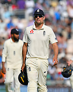 Alastair Cook of England during the 4th day of the 4th SpecSavers International Test Match 2018 match between England and India at the Ageas Bowl, Southampton, United Kingdom on 2 September 2018.