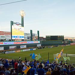 RENO, NV - APRIL 1: Images from Reno 1868 FC vs. Vancouver Whitecaps FC 2 at Greater Nevada Field in Reno, Nev., Saturday, April 1, 2017.<br /> <br /> (Photo by David Calvert/Reno 1868 FC)